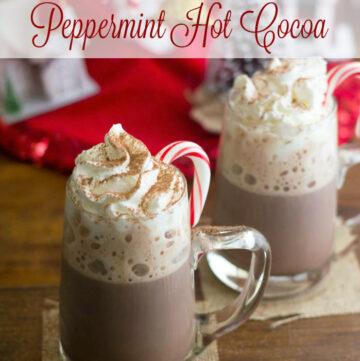Homemade Peppermint Hot Cocoa recipe