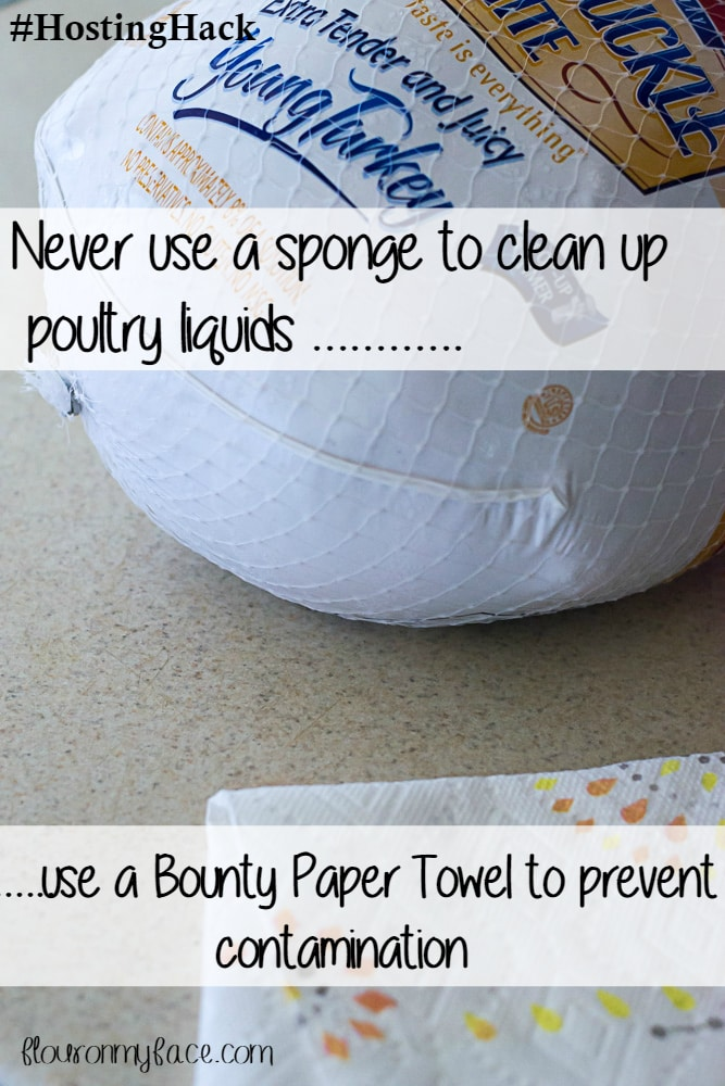 #HostingHack Holiday Cleaning with Bounty Paper Towels #ad flouronmyface.com