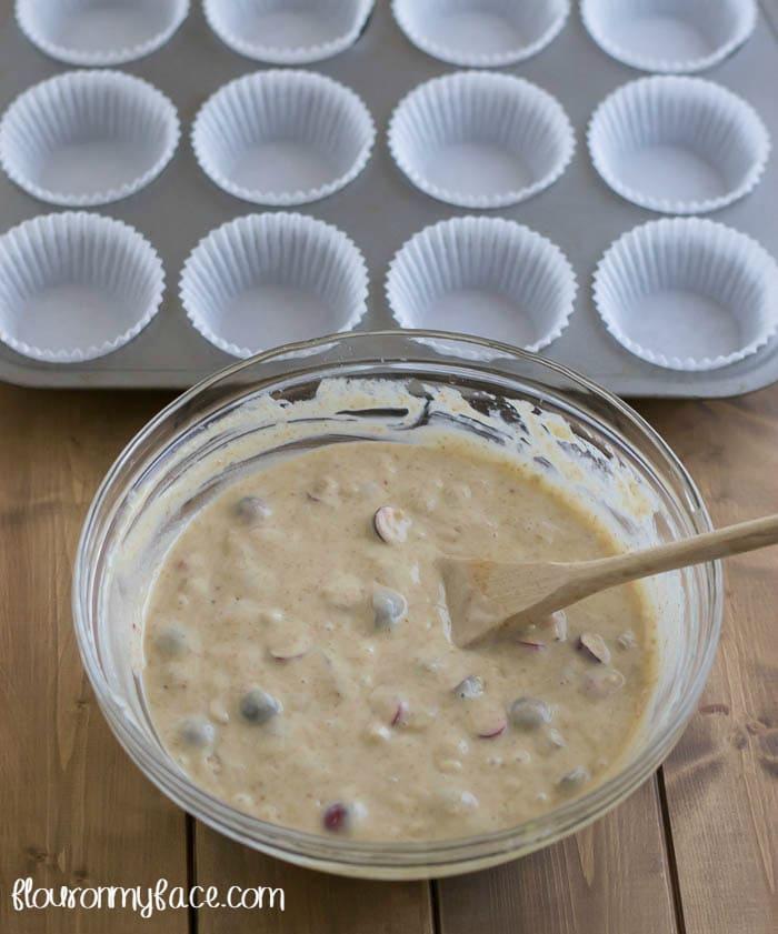 Muffin making tips via flouronmyface.com