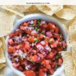 Homemade Pico de Gallo Recipe with Video
