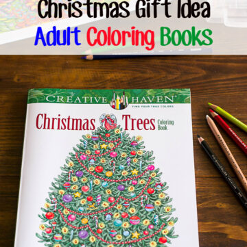 Last Minute Christmas Gift Ideas Adult Coloring Books via flouronmyface.com