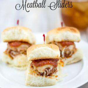 Crock Pot Meatballs Recipe via flouronmyface.com
