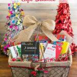 Christmas Gift Basket Ideas #WrappedInStyle