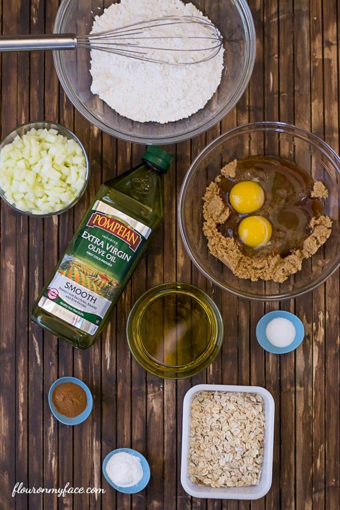 Olive oil muffin recipe via flouronmyface.com
