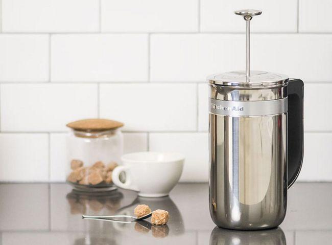 Precision Press KitchenAid Coffee brewer via flouronmyface.com