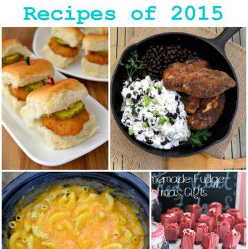 Top 15 Flour On My Face Recipes of 2015 via flouronmyface.com