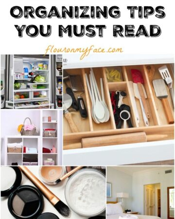 15 New Year's Organizing Tips You Must Read via flouronmyface.com