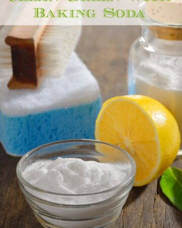 Tips for Cleaning with Baking Soda via flouronmyface.com