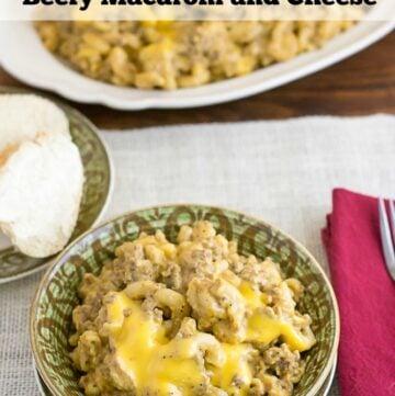 Crock Pot Beefy Macaroni and Cheese recipe tastes just like Cheeseburger Macaroni