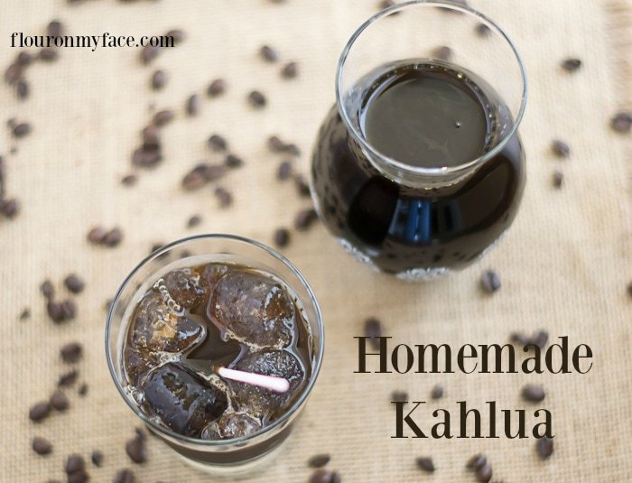 DIY Homemade Kahlua recipe via flouronmyface.com