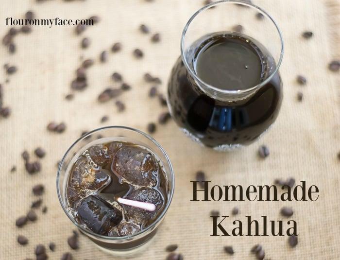 DIY Homemade Kahlua recipe via flouronmyface.com