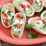 Guacamole Appetizer recipe via flouronmyface.com