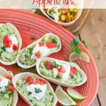 Mini Guacamole Boat Appetizer Recipe