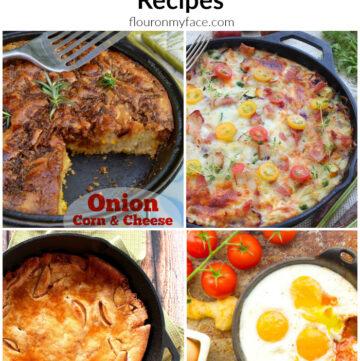 16 Breakfast Skillet Recipes to make the mornings easier via flouronmyface.com