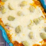 Chicken Artichoke Lasagna recipe made with Bertolli® Riserva Asiago