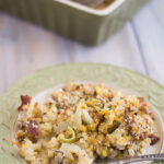 Cauliflower, Leek and Mushroom Casserole