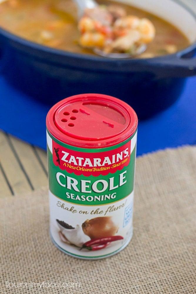 Zatarains Creole Jambalaya recipe via flouronmyface.com