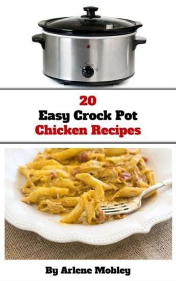 20 Easy Crock Pot Chicken Crock Pot REcipes eBook via flouronmyface.com