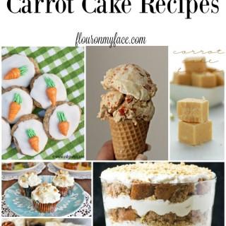 25 Fantastic Carrot Cakes recipes perfect for your Easter celebration via flouronmyface.com