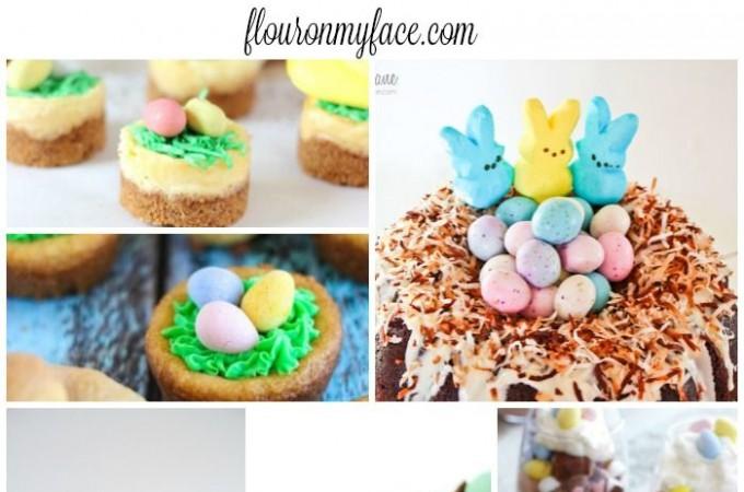 25 Incredible Easter Dessert recipes via flouronmyface.com