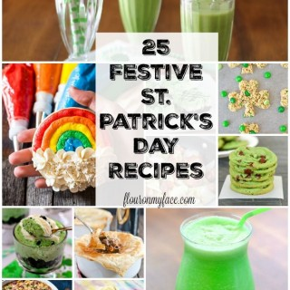 25 Festive St. Patrick's Day recipes via flouronmyface.com