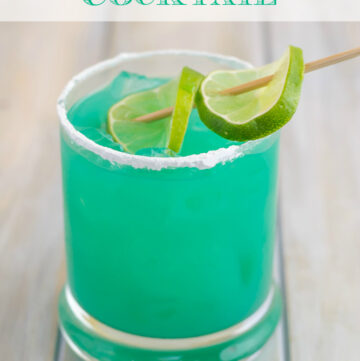 How to make a Blue Devil cocktail. It is one of my favorite Blue Curacao drink recipes. A perfect blue summer cocktail recipe