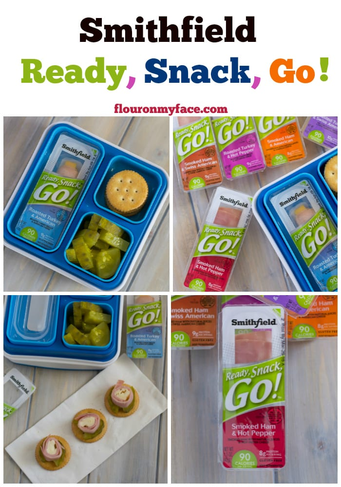 Smithfield Ready, Snack, Go! is a healthier snack option for when you are too busy to stop and eat. via flouronmyface.com