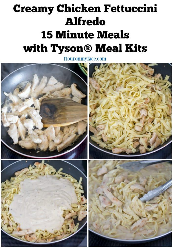 15 Minute Meals with Tyson® Meal Kits via flouronmyface.com