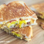 Breakfast Sandwich Ideas for National Grilled Cheese Day via flouronmyface.com