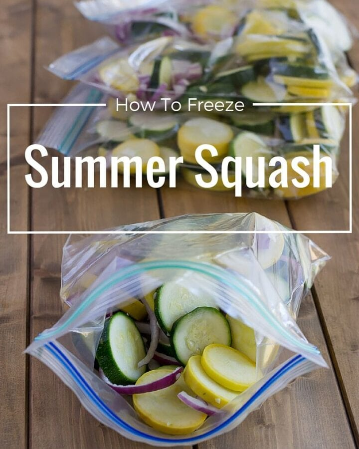 Buying fresh squash at the farmers market is the best way to eat local. Once you have that squash at home you need to know what to do with it so you can preserve it and use it later. Learn How to Freeze Squash so you can enjoy the summer bounty via flouronmyface.com