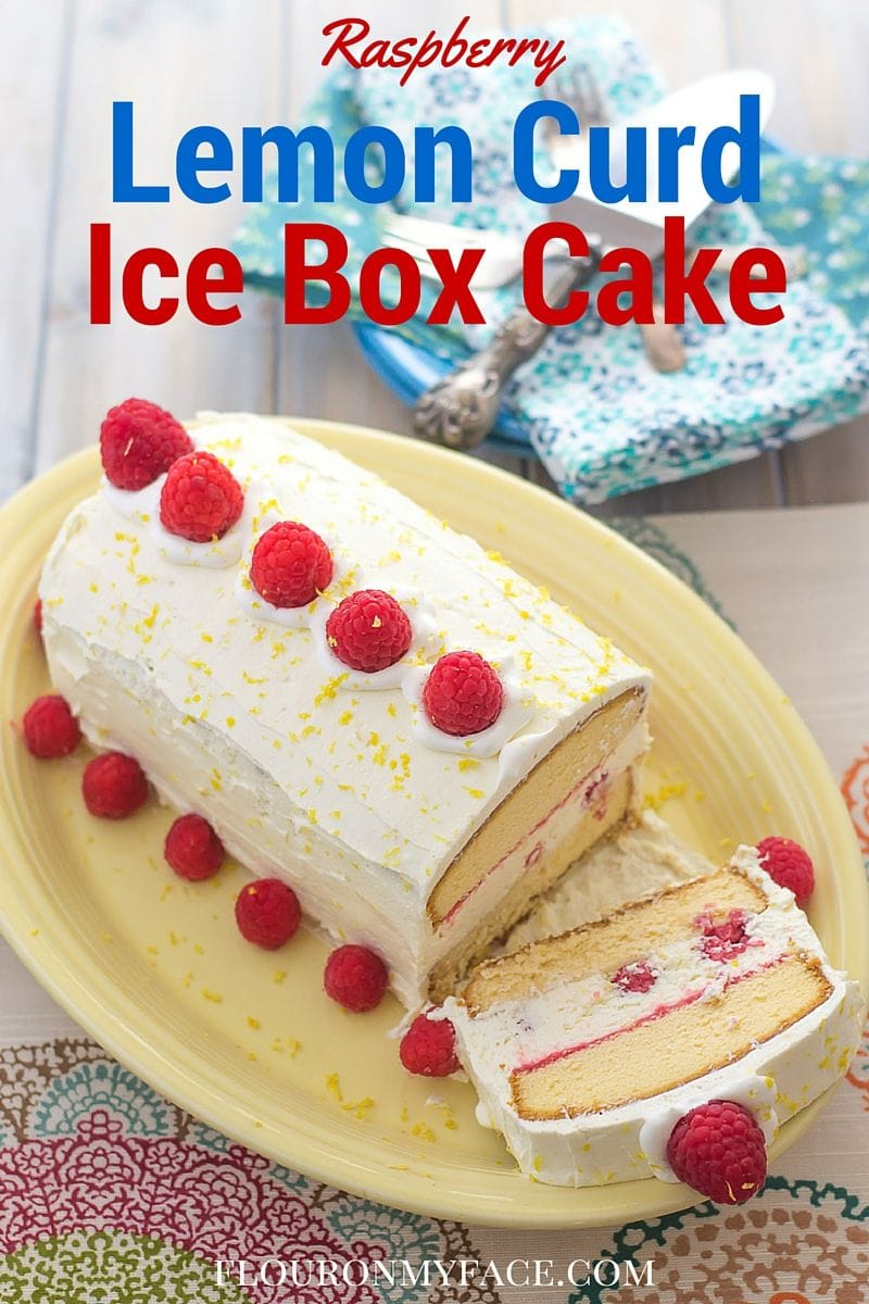 Lemon Curd Ice Box Cake
