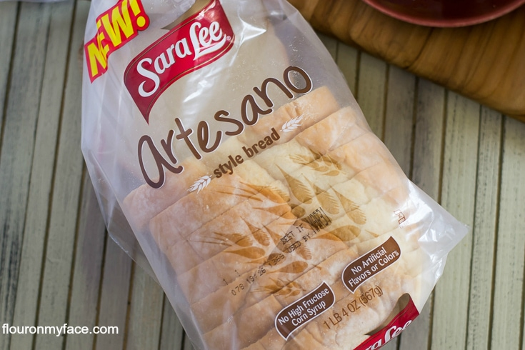 Sara Lee Artesano Style Bread is available at Walmart (AD) via flouronmyface.com