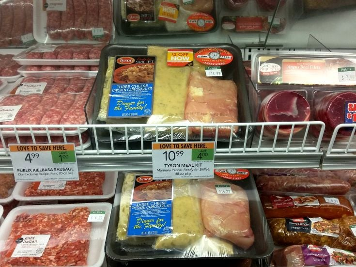 Tyson® Meal Kits at Publix AD via flouronmyface.com