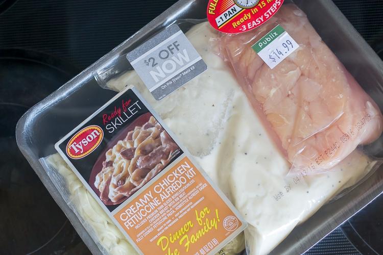 Tyson Meal Kit Ingredients via flouronmyface.com
