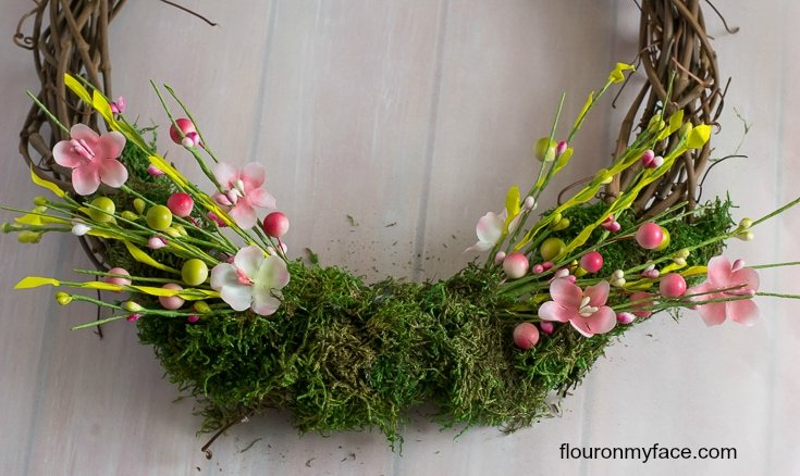 Fill in the empty spaces with more moss via flouronmyface.com