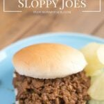 Crock Pot Sloppy Joes recipe via flouronmyface.com