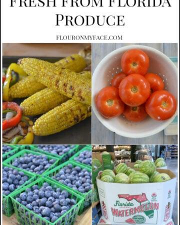 Fresh from Florida Produce via flouronmyface.com #ad