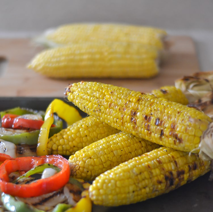 Grilled Florida Sweet Corn via flouronmyface.com