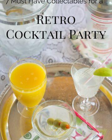 How to Throw a Retro Cocktail Party via flouronmyface.com