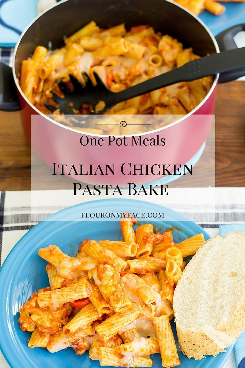 Italian Chicken Pasta Bake