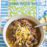 Crock Pot Southwestern Hamburger Soup