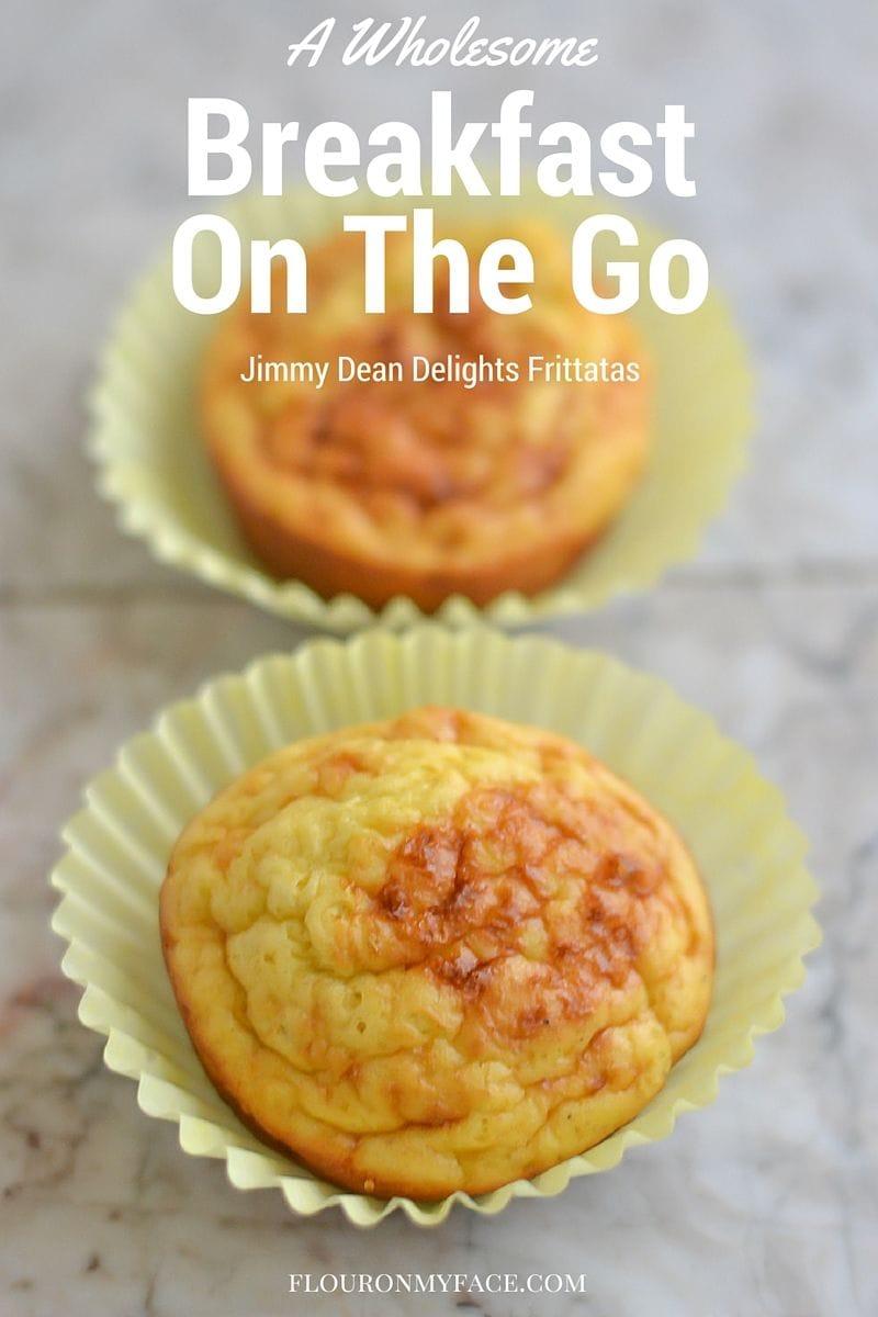 A Wholesome Breakfast On The Go Option via flouronmyface.com #ad