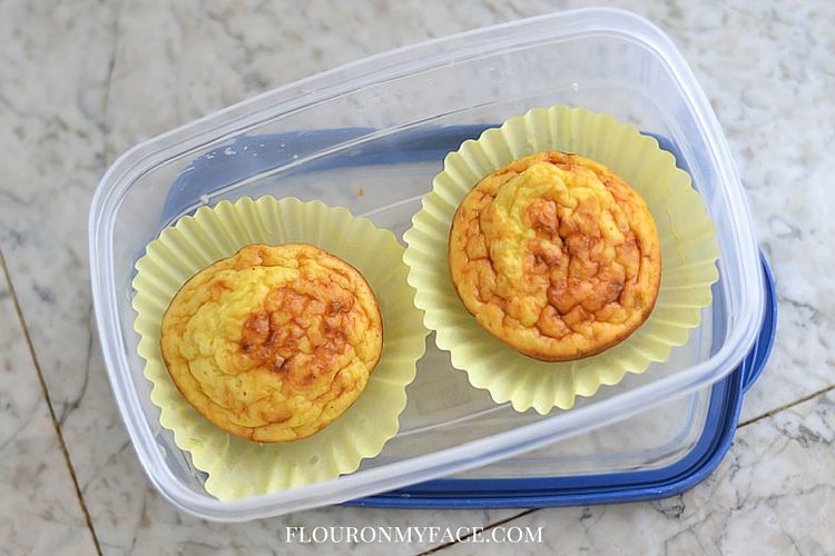 Low Carb Breakfast On The Go with Jimmy Dean Turkey and Veggie Breakfast Frittatas via flouronmyface.com