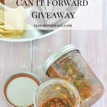 Can It Forward 2016 Giveaway via flouronmyface.com