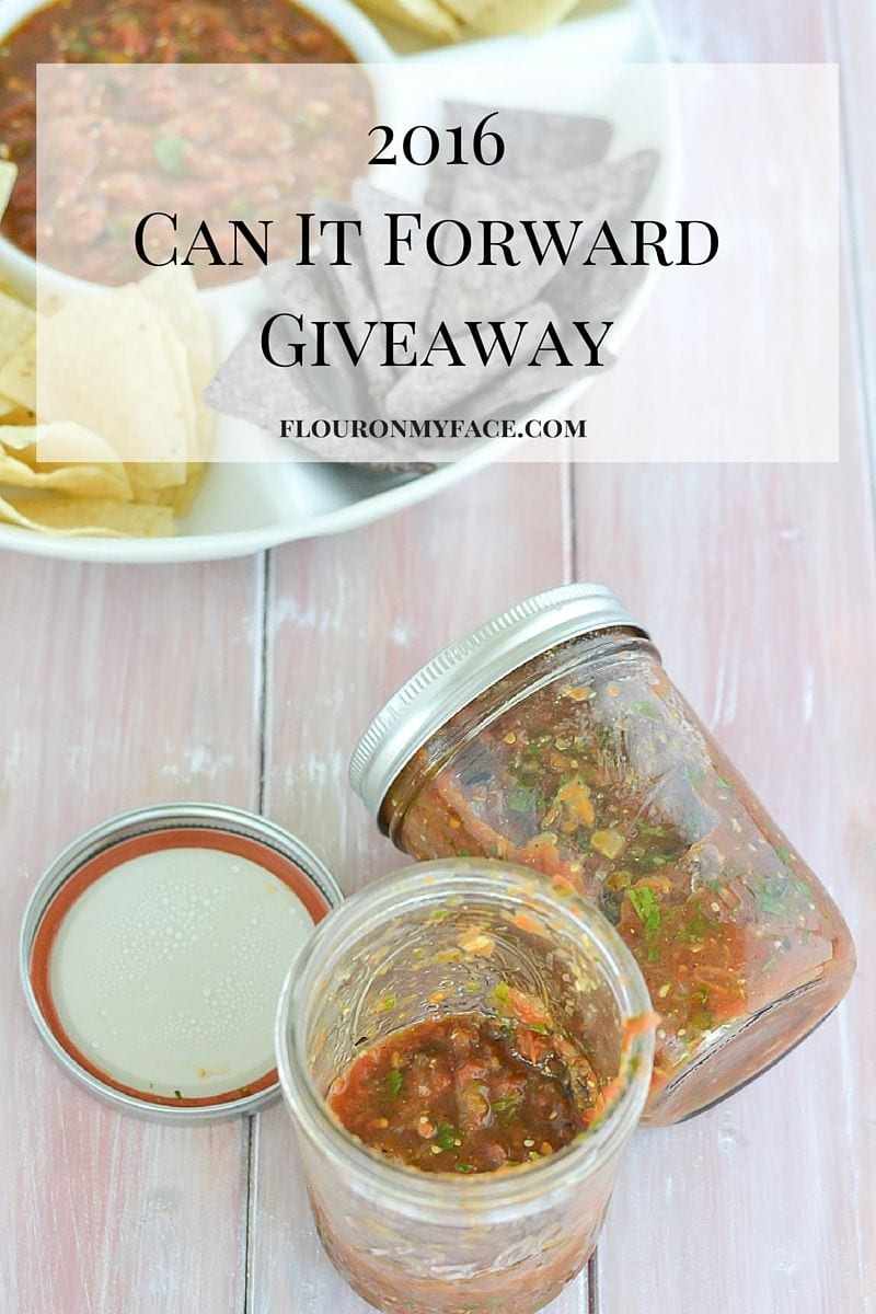 Can It Forward Day 2016 Giveaway via flouronmyface.com
