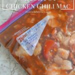 Freezer Meals-Crock Pot Chicken Chili Mac