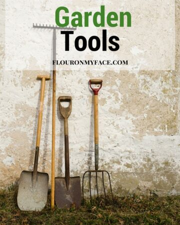 Tending to the plants in your garden is only one part of growing your own food. You also need to know How to GCare For Garden Tools. Find out how to take care of all those gardeing tools via flouronmyface.com