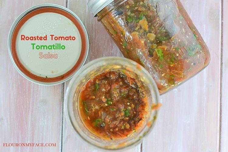 Roasted Salsa recipe via flouronmyface.com #ad #canitforward
