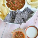 Roasted Tomato Tomatillo Salsa Recipe