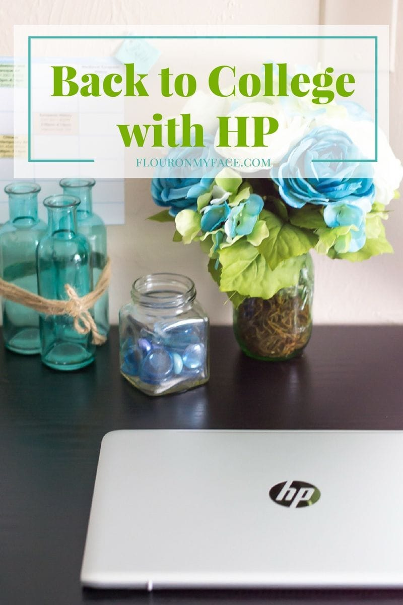 Back to College with HP Laptops via flouronmyface.com